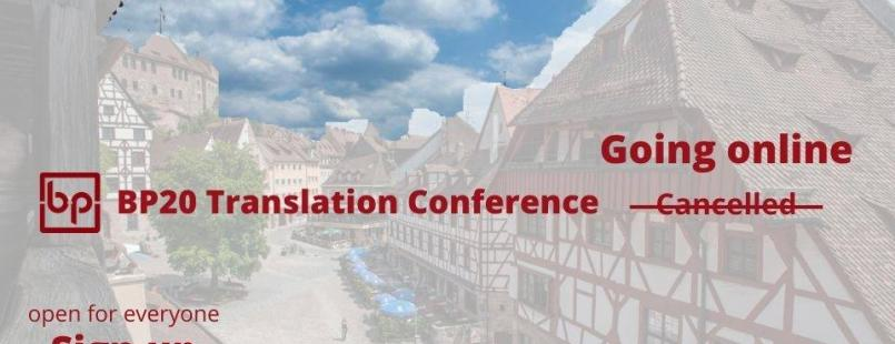 BP20 Translation Conference goes digital, Anastasia Giagopoulou