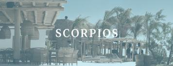 Scorpios, Mykonos, Greek translation, Anastasia Giagopoulou, travel, tourism